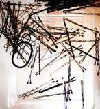 καρφίτσες Στοκ εικόνες με δικαίωμα ελεύθερης χρήσης