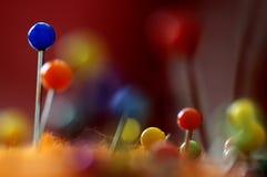 καρφίτσες Στοκ φωτογραφία με δικαίωμα ελεύθερης χρήσης