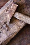 καρφί σφυριών Στοκ φωτογραφία με δικαίωμα ελεύθερης χρήσης