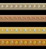 καρφιά σανίδων Στοκ εικόνα με δικαίωμα ελεύθερης χρήσης