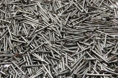 καρφιά σιδήρου Στοκ εικόνα με δικαίωμα ελεύθερης χρήσης