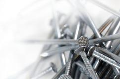 καρφιά σιδήρου Στοκ φωτογραφία με δικαίωμα ελεύθερης χρήσης