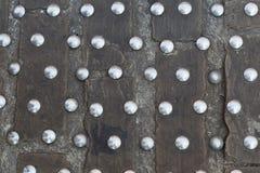 Καρφιά σιδήρου cobbles πετρών Στοκ Εικόνες