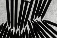 Καρφιά χάλυβα Στοκ Εικόνες