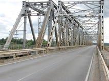 Καρφωμένη μέταλλο γέφυρα Στοκ φωτογραφία με δικαίωμα ελεύθερης χρήσης