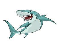 Καρχαρίας κινούμενων σχεδίων Στοκ Φωτογραφίες
