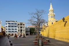 Καρχηδόνα, Κολομβία, Square Plaza de Λα Coches Στοκ φωτογραφίες με δικαίωμα ελεύθερης χρήσης
