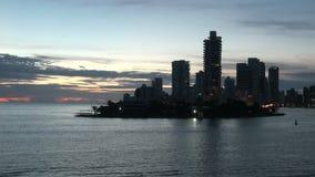 Καρχηδόνα - Κολούμπια Skyscapers απόθεμα βίντεο