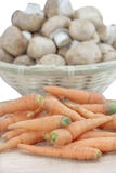 Καρότα μωρών Στοκ εικόνα με δικαίωμα ελεύθερης χρήσης