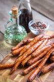 καρότα που βερνικώνονται Στοκ εικόνα με δικαίωμα ελεύθερης χρήσης