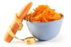 καρότα που γυαλίζονται Στοκ φωτογραφία με δικαίωμα ελεύθερης χρήσης