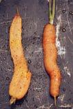 καρότα που ψήνονται Στοκ Εικόνες
