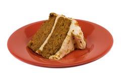καρότο κέικ Στοκ Εικόνα