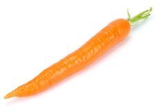 Καρότο που απομονώνεται άσπρο στενό σε επάνω υποβάθρου στοκ εικόνες