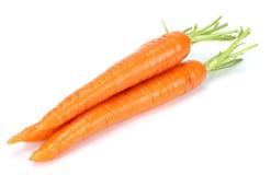 Καρότο που απομονώνεται άσπρο στενό σε επάνω υποβάθρου στοκ φωτογραφίες με δικαίωμα ελεύθερης χρήσης