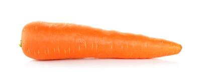 Καρότο που απομονώνεται στο άσπρο υπόβαθρο στοκ φωτογραφία