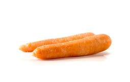 καρότο που απομονώνεται Στοκ εικόνες με δικαίωμα ελεύθερης χρήσης
