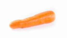 Καρότο στο άσπρο υπόβαθρο Στοκ Εικόνα