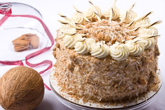 καρύδα κέικ Στοκ φωτογραφία με δικαίωμα ελεύθερης χρήσης