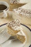 καρύδα κέικ Στοκ Φωτογραφία