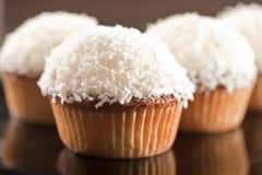 καρύδα cupcake Στοκ φωτογραφίες με δικαίωμα ελεύθερης χρήσης