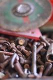 καρύδια μπουλονιών Στοκ φωτογραφία με δικαίωμα ελεύθερης χρήσης