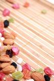 καρύδια ξηρών καρπών συλλ&omicron στοκ εικόνες με δικαίωμα ελεύθερης χρήσης