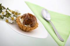 καρύδια delicios κέικ Στοκ φωτογραφία με δικαίωμα ελεύθερης χρήσης