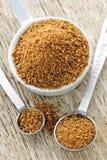 καρύδα που μετρά τη ζάχαρη &kappa Στοκ Εικόνες