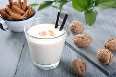 Καρύδι milkshake Στοκ Εικόνες