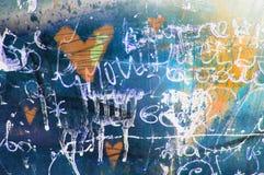 Καρδιά έννοιας grunge συρμένο χέρι Αφηρημένο εκλεκτής ποιότητας υπόβαθρο βαλεντίνων με τη σύσταση grunge αφίσα Ανασκόπηση αγάπης Στοκ εικόνες με δικαίωμα ελεύθερης χρήσης