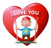 Καρδιά Αγάπη Στοκ Εικόνα