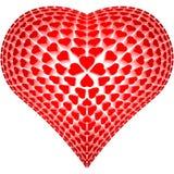 Καρδιά από τις καρδιές Στοκ εικόνα με δικαίωμα ελεύθερης χρήσης