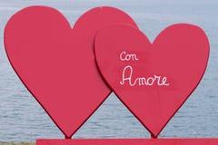 Καρδιά για την ημέρα βαλεντίνων Στοκ Εικόνα