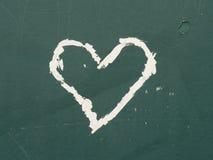 Καρδιά γκράφιτι Στοκ Εικόνες
