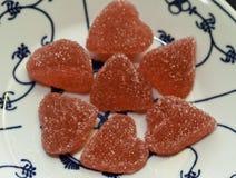 Καρδιά γλυκών Στοκ εικόνα με δικαίωμα ελεύθερης χρήσης