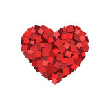 Καρδιά εγγράφου Στοκ Εικόνες
