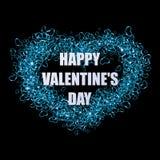 Καρδιά ημέρας βαλεντίνων επίσης corel σύρετε το διάνυσμα απεικόνισης Στοκ Φωτογραφία