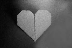 Καρδιά ημέρας βαλεντίνων origami εγγράφου Στοκ Εικόνα