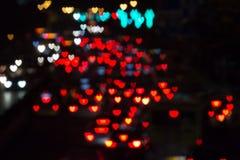 Καρδιά-διαμορφωμένα σημεία χρώματος Στοκ Εικόνες