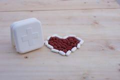 Καρδιά ιατρικής Στοκ φωτογραφία με δικαίωμα ελεύθερης χρήσης
