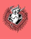 καρδιά ιερή Στοκ εικόνες με δικαίωμα ελεύθερης χρήσης
