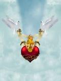 καρδιά ιερή Στοκ Φωτογραφίες