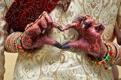 Καρδιά - Ινδία Στοκ Εικόνα