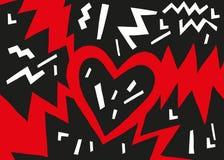 Καρδιά και πίεση Στοκ εικόνες με δικαίωμα ελεύθερης χρήσης