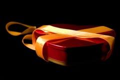 καρδιά κιβωτίων που διαμορφώνεται Στοκ φωτογραφία με δικαίωμα ελεύθερης χρήσης