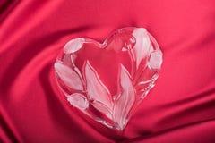 Καρδιά κρυστάλλου Στοκ εικόνες με δικαίωμα ελεύθερης χρήσης