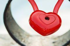 Καρδιά, κλειδαριά χωρίς ένα κλειδί, Στοκ εικόνες με δικαίωμα ελεύθερης χρήσης