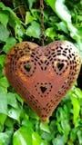 Καρδιά μετάλλων Στοκ φωτογραφία με δικαίωμα ελεύθερης χρήσης