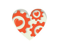 Εργαλεία της αγάπης απεικόνιση αποθεμάτων